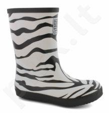 Natūralaus kaukmedžio guminiai batai vaikams VIKING CLASSIC INDIE Zebra(1-14200-201)
