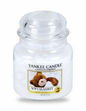 Yankee Candle Soft Blanket, aromatizuota žvakė moterims ir vyrams, 411g