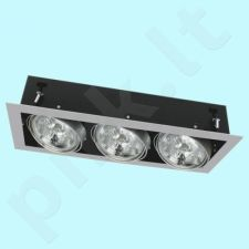 Downlight tipo šviestuvas DLP-350-GR MATEO
