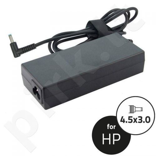 Qoltec Notebook Power Supply 90W | 19.5V | 4.62A | 4.5x3.0+pin