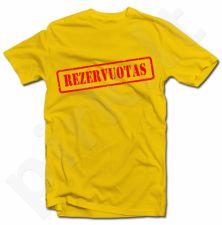 """Marškinėliai """"Rezervuotas"""""""