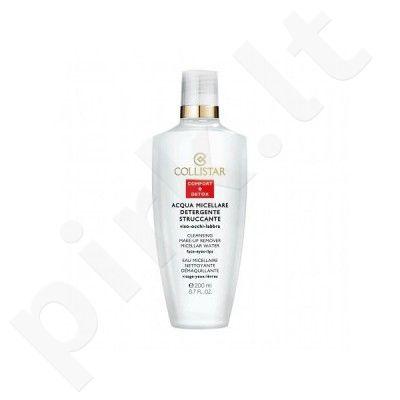 Collistar Cleansing makiažo valiklis Micellar Water, kosmetika moterims, 200ml