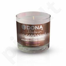 Dona masažo žvakė (Šokoladinių putėsių skonio)
