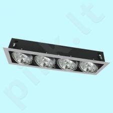 Downlight tipo šviestuvas DLP-450-GR MATEO