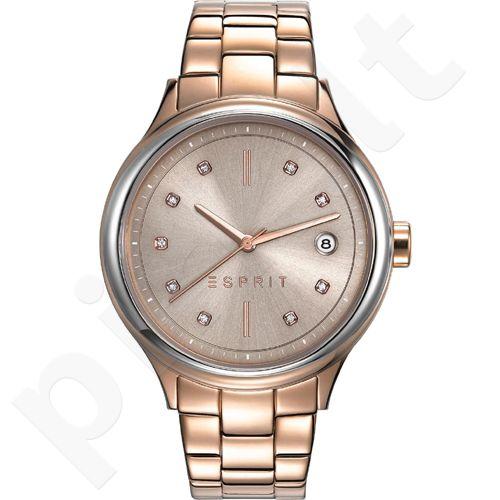 Esprit ES108552003 Caroline Rose Gold moteriškas laikrodis