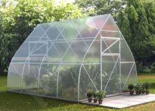 Šiltnamis Lašas 3x6 polikarbonatinis surenkamas