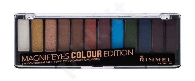 Rimmel London Magnif Eyes, Contouring Palette, akių šešėliai moterims, 14,16g, (004 Colour Edition)