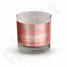 Dona masažo žvakė (Vanilinės grietinėlės skonio)