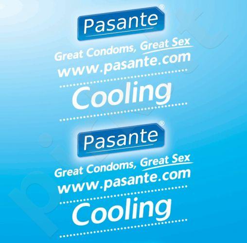 Šaldantys prezervatyvai Pasante (1 vnt)