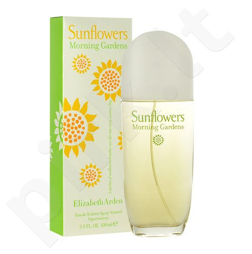 Elizabeth Arden Sunflowers Morning Gardens, EDT moterims, 100ml
