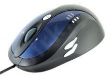 Pelė MODECOM Optinė MC-907 Mėlynai juoda