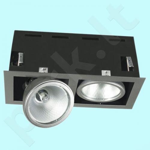 Downlight tipo šviestuvas MTH-2150-GR ESPERO