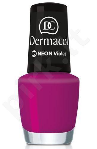 Dermacol nagų lakas, kosmetika moterims, 5ml, (17 kiwi)