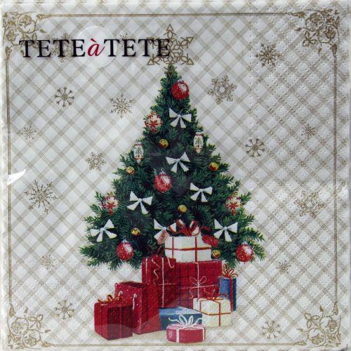 Servetėlės Tat Bn Christmas Tree With Gifts