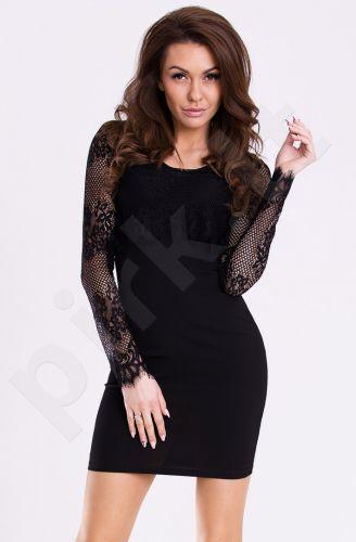 Emamoda suknelė - juoda 12002-3