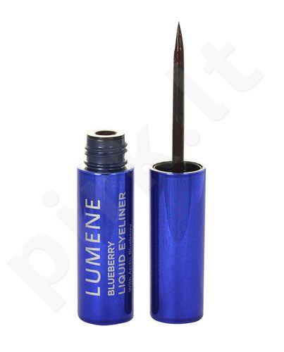 Lumene Blueberry Liquid akių kontūrų priemonė, kosmetika moterims, 2,8ml, (2 Black Brown)