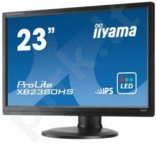 Monitorius Iiyama Prolite XB2380HS 23'' IPS FHD, DVI, HDMI, HAS, Garsiakalbiai