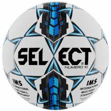 Futbolo kamuolys Select Numero 10 IMS 2015 biało mėlyna 9467