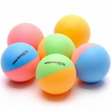 Stalo teniso kamuoliukai 6vnt Meteor Rainbow 15027