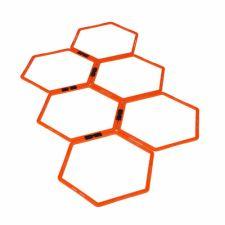 Vikrumo žiedai Hexa hoops 6vnt. Yakimasport 100268