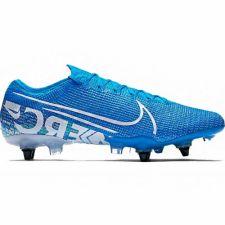Futbolo bateliai  Nike Mercurial Vapor 13 Elite SG-Pro AC M AT7899 414 mėlyni