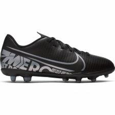 Futbolo bateliai  Nike Mercurial Vapor 13 Club FG/MG JR AT8161 001 juodi