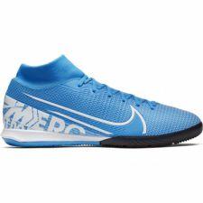 Futbolo bateliai  Nike Mercurial Superfly 7 Academy IC M AT7975 414 mėlyni