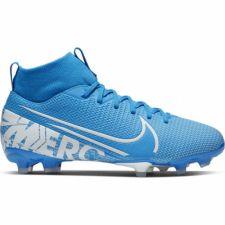 Futbolo bateliai  Nike Mercurial Superfly 7 Academy FG/MG JR AT8120 414 mėlyni