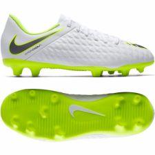 Futbolo bateliai  Nike Hypervenom Phantom 3Club FG Jr AJ4146-107 balti
