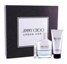 Jimmy Choo Urban Hero, rinkinys kvapusis vanduo vyrams, (EDP 100 ml + EDP 7,5 ml + balzamas po skutimosi 100 ml)
