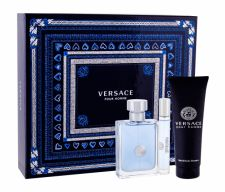 Versace Pour Homme, rinkinys tualetinis vanduo vyrams, (EDT 100 ml + EDT 10 ml + dušo želė 150 ml)