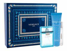 Versace Man Eau Fraiche, rinkinys tualetinis vanduo vyrams, (EDT 100 ml + EDT 10 ml + dušo želė 150 ml)
