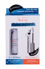 Avene Smoothing, A-Oxitive, rinkinys paakių kremas moterims, (Night paakių kremas 15 ml + blakstienų tušas 7 ml)