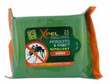 Xpel Mosquito & Insect, Repelentas moterims ir vyrams, 25pc