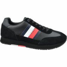 Sportiniai bateliai  Tommy Hilfiger Corporate Leather Flag Runner M FM0FM02380 990
