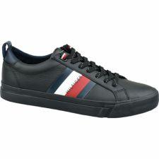 Sportiniai bateliai  Tommy Hilfiger Flag Detail Leather Sneaker M FM0FM02576 BDS