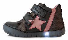 D.D. step juodi led batai 31-36 d. 0507dl