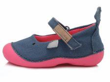 D.D. step mėlyni canvas batai 19-24 d. c015240