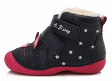 D.D. step tamsiai mėlyni batai su pašiltinimu 20-24 d. 015190b