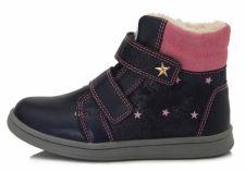 D.D. step tamsiai mėlyni batai su pašiltinimu 28-33 d. da061667