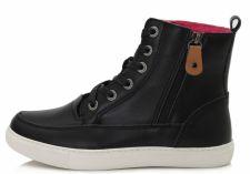 D.D. step juodi batai su pašiltinimu 37-40 d.052-8b
