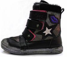 D.D. step juodi batai su pašiltinimu 31-36 d. 049913bl