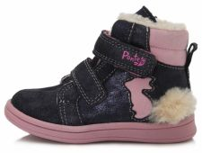 D.D. step tamsiai mėlyni batai su pašiltinimu 22-27 d. da031373d