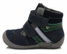 D.D. step tamsiai mėlyni batai su pašiltinimu 20-24 d. 01841