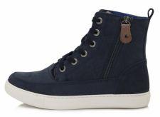 D.D. step tamsiai mėlyni batai su pašiltinimu 37-42 d.052-8