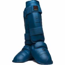Karate apsaugos blauzdai ir pėdai WKF L blue