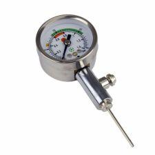 Manometr do mierzenia ciśnienia w piłce Meteor 39007