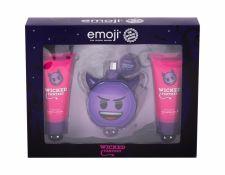 Emoji Wicked Fantasy, rinkinys kvapusis vanduo vaikams, (EDP 50 ml + dušo želė 60 ml + kūno losjonas 60 ml)