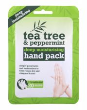 Xpel Tea Tree, Tea Tree & Peppermint Deep Moisturising Hand Pack, rankų kremas moterims, 1pc