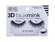 Ardell 3D Faux Mink, 854, dirbtinės blakstienos moterims, 1pc, (Black)
